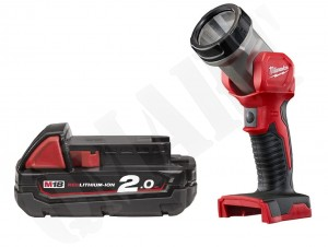 Milwaukee M18 TLED-0 + 2ah 4932430361 120lm 18V  Latarka LED