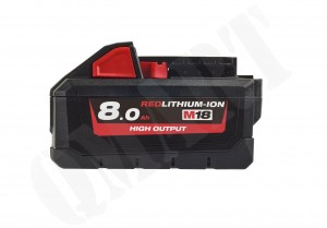 Milwaukee M18HB8 8Ah Hight Output Akumulator Bateria